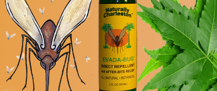 Evada Bug Insect Repellent Natural Product
