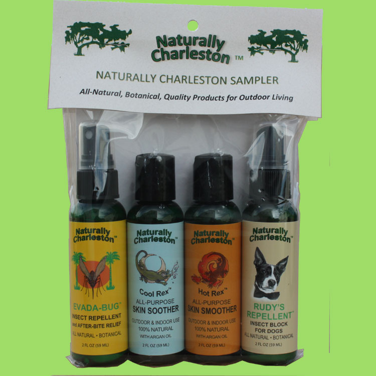 Naturally Charleston Samplers of All Four Products